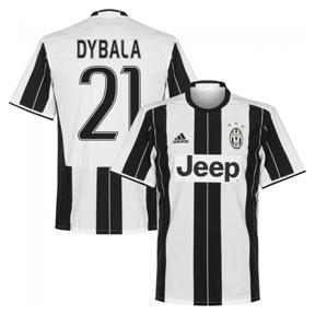 adidas Youth  Juventus  Dybala #21 Soccer Jersey (Home 2016/17)