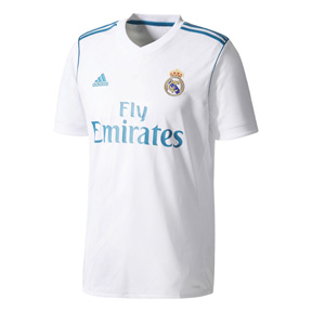 adidas Youth  Real Madrid   Soccer Jersey (Home 17/18)