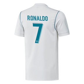 adidas Youth  Real Madrid   Ronaldo #7 Soccer Jersey (Home 17/18)