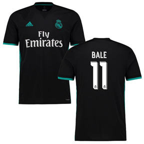 adidas Youth  Real Madrid   Bale #11 Soccer Jersey (Away 17/18)