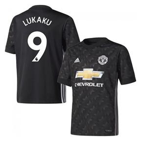 adidas  Manchester United  Lukaku #9 Soccer Jersey (Alternate 17/18)