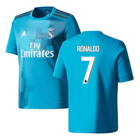 adidas  Real Madrid   Cristiano Ronaldo #7 Soccer Jersey (Alternate 17/18)