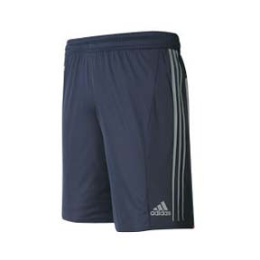 adidas Pulse Soccer Training Short (Navy/Silver)