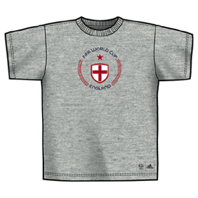 adidas World Cup 2006 England Circle Soccer Tee