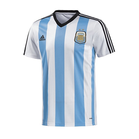 adidas Argentina World Cup 2014 Soccer Jersey Tee