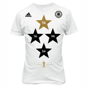 adidas  Germany  World Cup Champions Soccer Tee