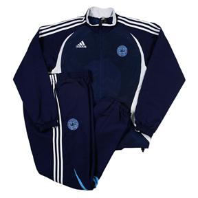 adidas Denmark Soccer Presentation Suit