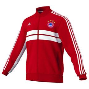 adidas Bayern Munich Anthem Soccer Track Top