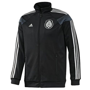 adidas Mexico Presentation Soccer Track Top (Black/Silver)