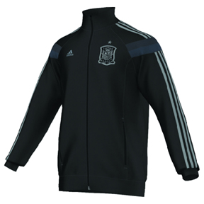 adidas Spain Anthem World Cup 2014 Soccer Track Top (Shale)