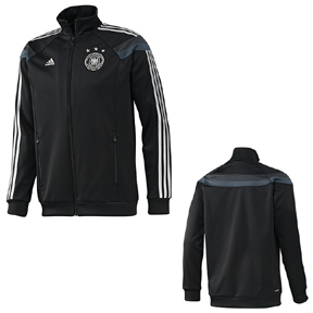 adidas Germany World Cup 2014 Soccer Track Top (Black)