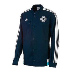 adidas Chelsea FC Anthem Soccer Track Top (15/16)