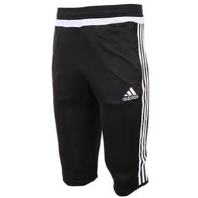 adidas Tiro 15 3/4 Soccer Training Pant (Black/White)