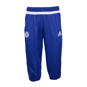 adidas Chelsea 3/4 Soccer Training Pant (2015/16)