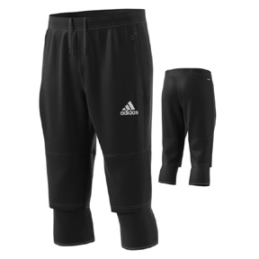 adidas Tiro  17 3/4 Soccer Training Pant (Black)