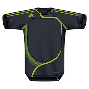 adidas f50 goalkeeper jersey dark shale slime. Black Bedroom Furniture Sets. Home Design Ideas