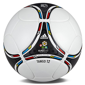 adidas  Euro 2012 Tango 12 Match Soccer Ball