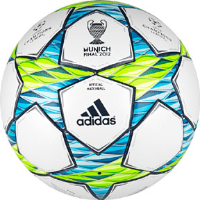 adidas  Finale 12 UEFA CL Munich Match Soccer Ball