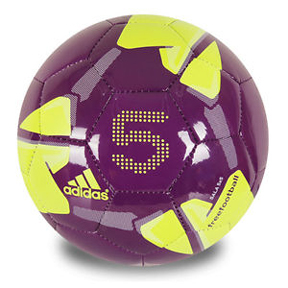 adidas FreeFootball 5x5 Sala Soccer Ball (Purple/Volt)