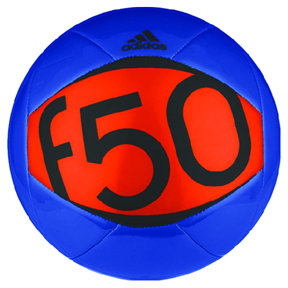 adidas F50 X-ite II Soccer Ball (Blue/Orange)