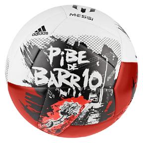 adidas  Lionel Messi 10 Pibe de Barrio Soccer Ball