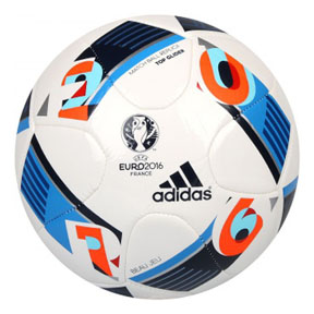 adidas  Euro 2016 Top Glider Soccer Ball