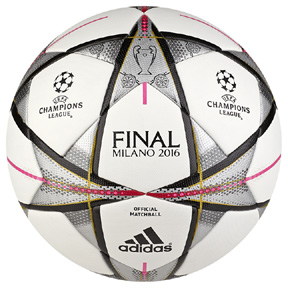 adidas Finale Milano 2016 UEFA CL Official Match Soccer Ball