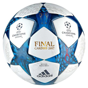 adidas Finale  Cardiff 2017 UEFA CL Official Match Soccer Ball