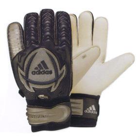adidas Fingersave Evolution E3S Goalie Glove (Marine/Silver)