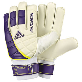 adidas Response Training Soccer Goalie Glove (Sharp Purple)