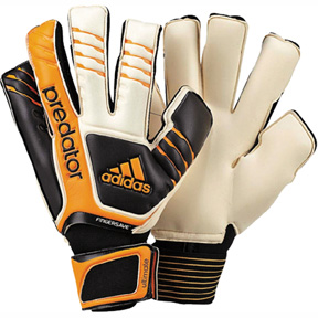 adidas  Predator Fingersave Ultimate Soccer Goalie Glove (Gold)