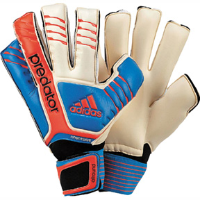 adidas  Predator Fingersave Allround Soccer Goalie Glove (Blue)