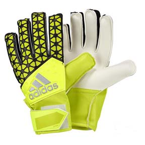 adidas ACE Replique Soccer Goalie Glove (Solar Yellow)