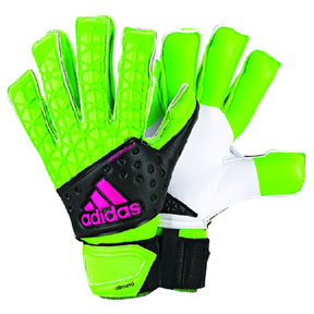 adidas ACE Zones Fingersave Allround Soccer Goalie Glove (Green)