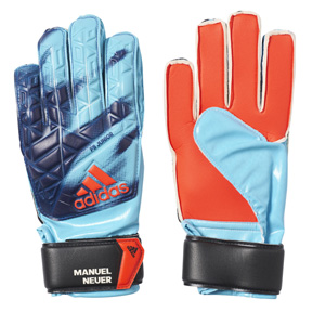 adidas Youth ACE Fingersave Manuel Neuer Glove (Energy Blue)