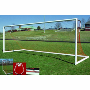 GOAL Sporting Goods Elliptical Official Soccer Goal (6.5 x 18)