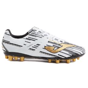 Joma  Super Copa AG Soccer Shoes (White/Black)