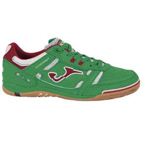 Joma Lozano Futsal / Indoor Soccer Shoes (Green/Red)