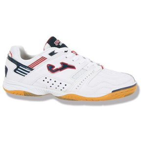 Joma Lozano Futsal / Indoor Soccer Shoes (White/Red)