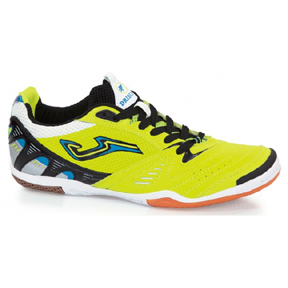 Joma Dribbling 311 Piso Indoor Soccer Shoes (Ultra Bright Green)