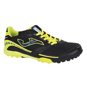 Joma Lozano 401 Turf Soccer Shoes (Black/Yellow)
