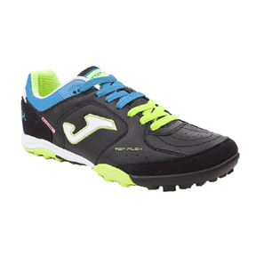Joma Top Flex Turf Soccer Shoes (Black/Green)