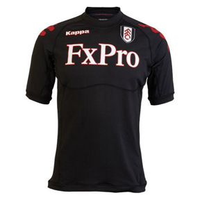 Kappa Fulham Authentic  Soccer Jersey (Away 2011/12)