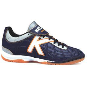 Kelme Majestad Indoor Soccer Shoes (Navy)