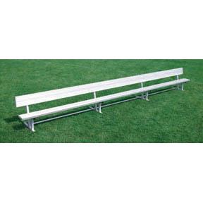 Kwik Goal 21' Bench with Back