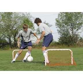 KwikGoal 1 Step Soccer Goal Kit (Pair of mini goals)