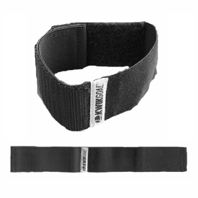 KwikGoal Soccer Shinguard Strap (Black)