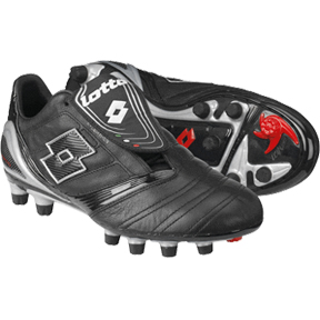 Lotto Vento Diablo KL FG Soccer Shoes (Black)