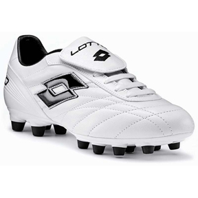 Lotto Stadio Classic FG Soccer Shoes (White)