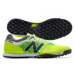 New Balance Audazo Pro Turf Soccer Shoes (Lime Glo/Gunmetal)